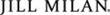 Jill Milan logotype