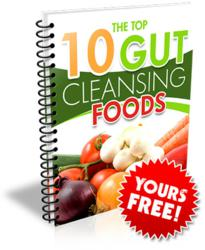 balance good and bad bacteria in the gut free cleansing foods book