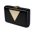Jill Milan Holland Park Clutch black and gold