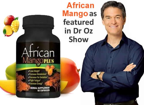 Dr. Oz Recommended African Mango Extracts is Now available ...
