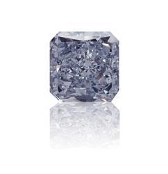 Fancy Blue Radiant Diamond