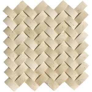 Soci Ssv 601 Mosaic Tile Herringbone Travertine