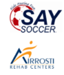 Airrosti and SAY Soccer Logos