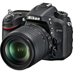 Nikon D7100 DSLR Camera with 18-105mm f/3.5-5.6G ED VR DX Lens