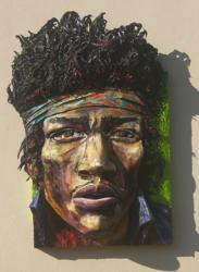 Homage to Jimi created by Brett Stuart Wilson
