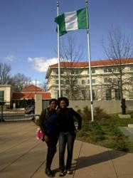 I'm So Proud To Be A Nigerian,Mercy Johnson Says After Visiting Nigerian Embassy in Washington DC