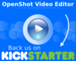 OpenShot Graphic for Kickstarter