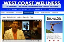 West Coast Wellness North Port FL Chiropractor Laser Therapy