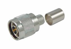 Solderless Coaxial Connector from L-com