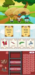 Reading Eggs online phonics games combine educational activities with fun and motivational elements