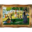 Sunday Afternoon on the Island of La Grande Jatte - Georges Seurat