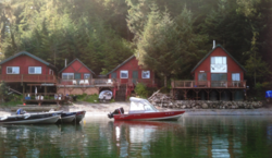 Alaskan hunting and fishing lodge, Alaskan fishing lodge