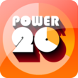 The Power 20 logo.