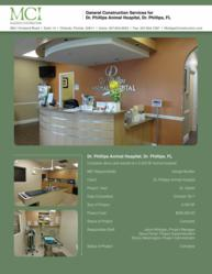 Dr Philips Animal Hospital reconstructed by Mulligan Constructors Orlando's Commercial Contractor