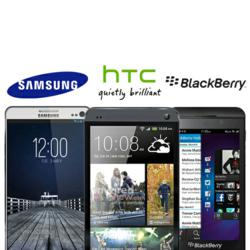 The Samsung Galaxy S4, HTC One Announcements and BlackBerry Z10 Release Spark Growths in Handset Valuations and Trade ins Online According to CompareMyMobile.com