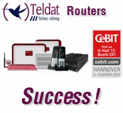 Teldat Routers Successful at CeBIT