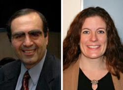 Dr. Andre Garabedian and Dr. Lauren Loya