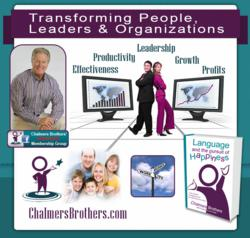 Chalmers Brothers, Certified Coach, Consultant, Trainer, Speaker, Author