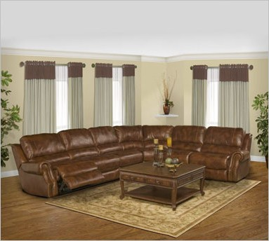 Parker House Products Like The Zeus Leather Sectional Shown Here Are  Available This Weekend At A 10% Discount.