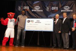 Bobcats and Fox Sports Carolinas donate $200K to Y Achievers