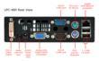 LPC-480 Mini PC - Rear Layout