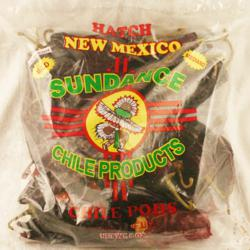 8 ounce bag of dried red Hatch chile.