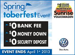 Volkswagen specials march 2013