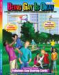 Being Gay is Okay Coloring Book Novel with Fabulous Gay Sharing Cards by St. Louis Publisher Really Big Coloring Books - Civil Rights - Tolerance - Inclusion
