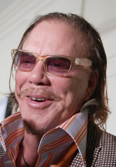 Mickey Rourke Top Ranker S March Rankings Of The
