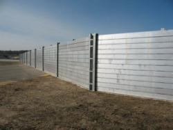 Flood Control America's removable flood barrier system at St. Paul Downtown Airport.