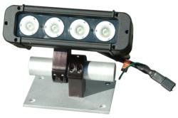 LEDP10W-40ET 40 watt LED light  with adjustable mounting bracket