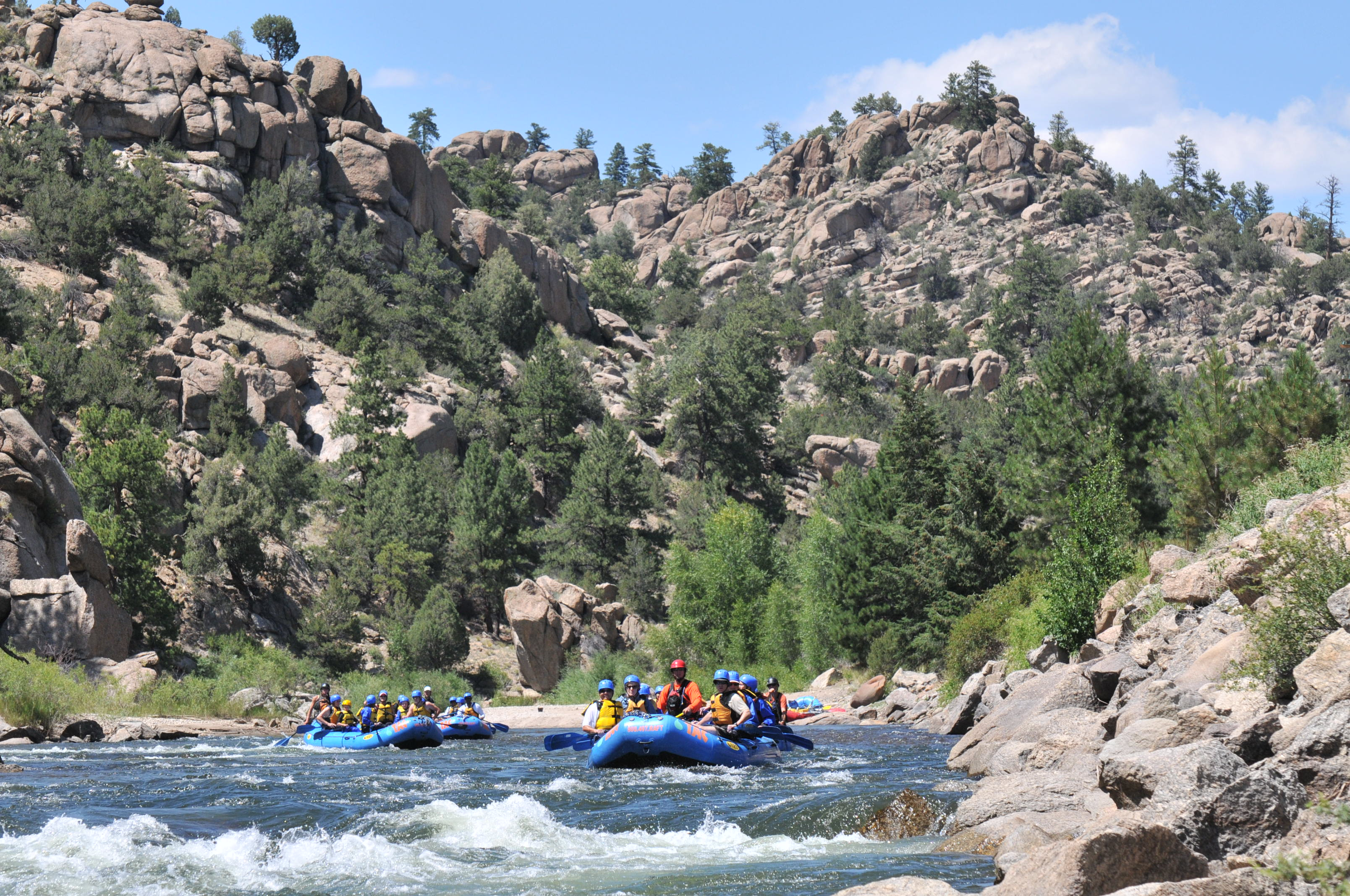 Quality matters when choosing a rafting company eight for Planning colorado vacation