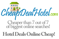Cash back rebate hotel deal makes for an unmatched low price