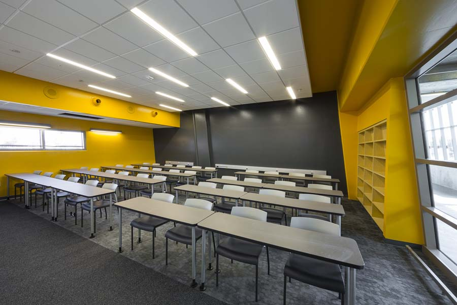 Classrooms Feature Natural Daylight Ocean Views And Bright Bold Colors That Stimulate Learning