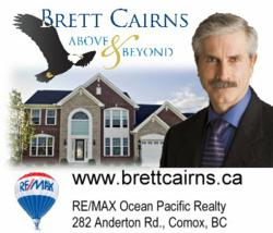 Brett Cairns of REMAX Ocean Pacific Realty provides Comox Valley Real Estate Services