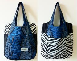 revesable tote bag