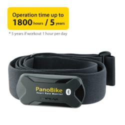 panobike bluetooth smart heart rate monitor, iphone 4s, iphone 5