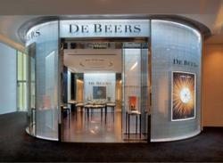 De Beers Diamond Jewellers, Shanghai IFC