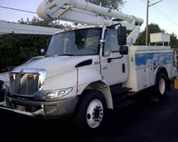 Altec Hybrid Bucket Truck