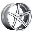 TSW Alloy Wheels - the Mirabeau in Silver