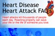 Heart Attack And Heart Disease FAQ