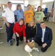 Fundraising Effort Benefits Injured Dog and Montgomery County, Ohio Animal Resource Center