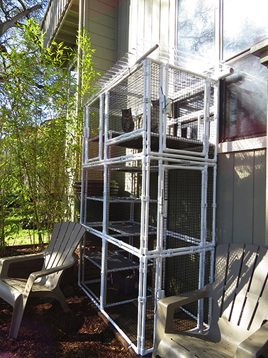 Modular Outdoor Cat Enclosures Manufacturer Cats On Deck