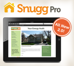 SnuggPro 2.0 Energy Auditing & Sales Tool