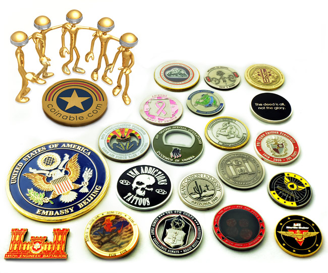 Coinable.com Celebrates 10 Years Creating Challenge Coins, Military Coins  and Other Custom Coins