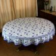 tablecloth round indian