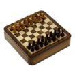 Indian art wooden chess set