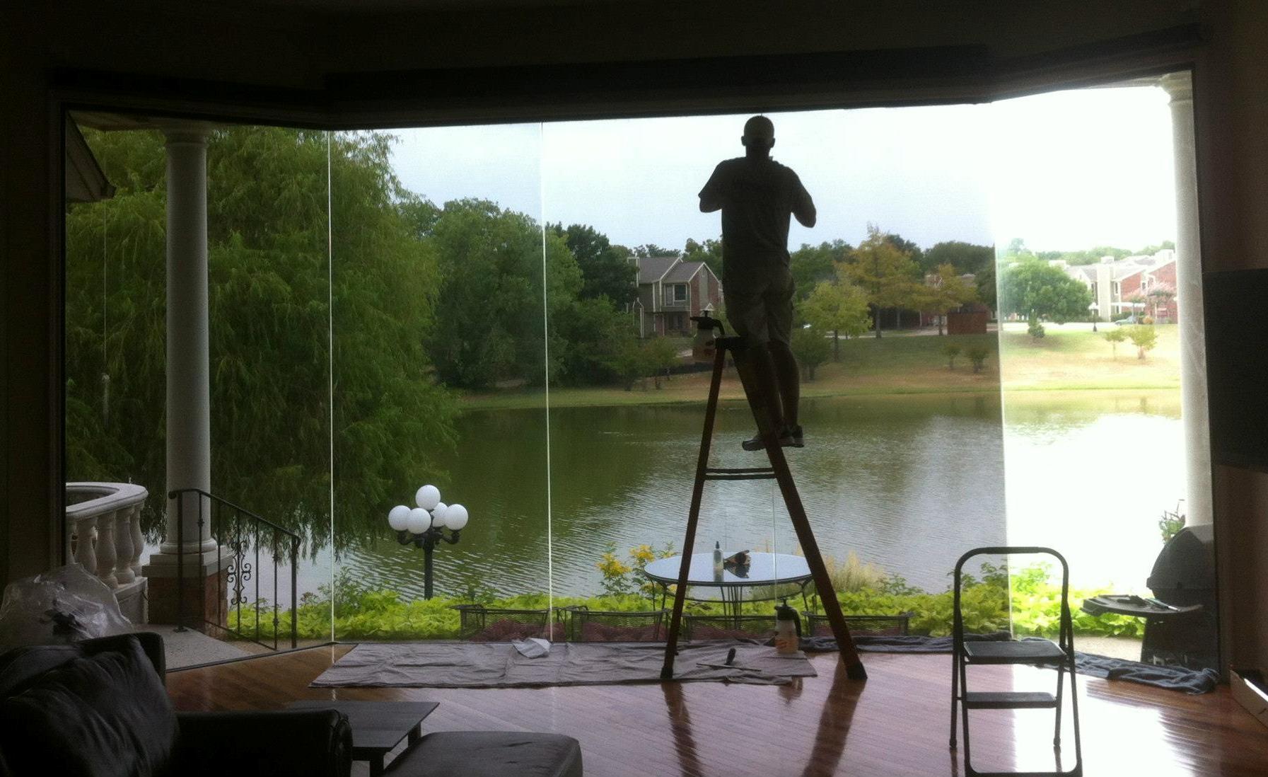 window genie installs privacy window film adding to local. Black Bedroom Furniture Sets. Home Design Ideas