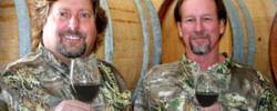 WildGameWine.com owners Steve Mayer and Richard Rusin