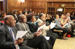 The National Action Network tribute to Rosa Parks held February 28 at the Church of Scientology National Affairs Office in Washington, D.C., was the culmination of Black History Month observances.